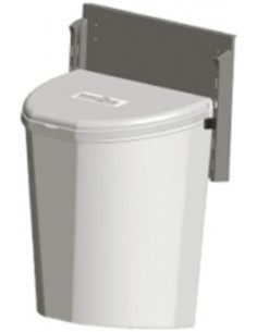 Papelera 10 L Brunner Pillar XL