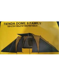 Tienda de campaña Dome 9 personas