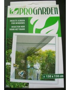Cortina mosquitera anti insectos para ventana 130 x 150 cm
