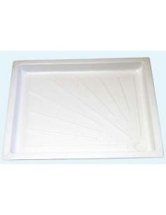 Duschwanne 600 x 700 mm Weiß