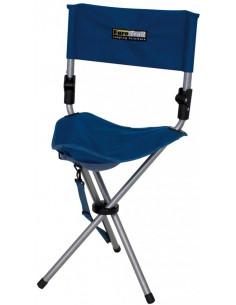 Leinwand Escabeau cadeira dobrável com encosto