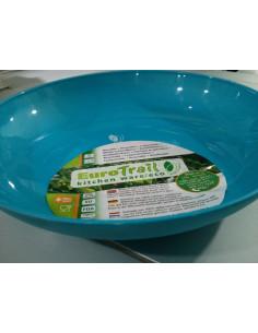 Placa profunda 23 branca biodegradável (microondas adequado)