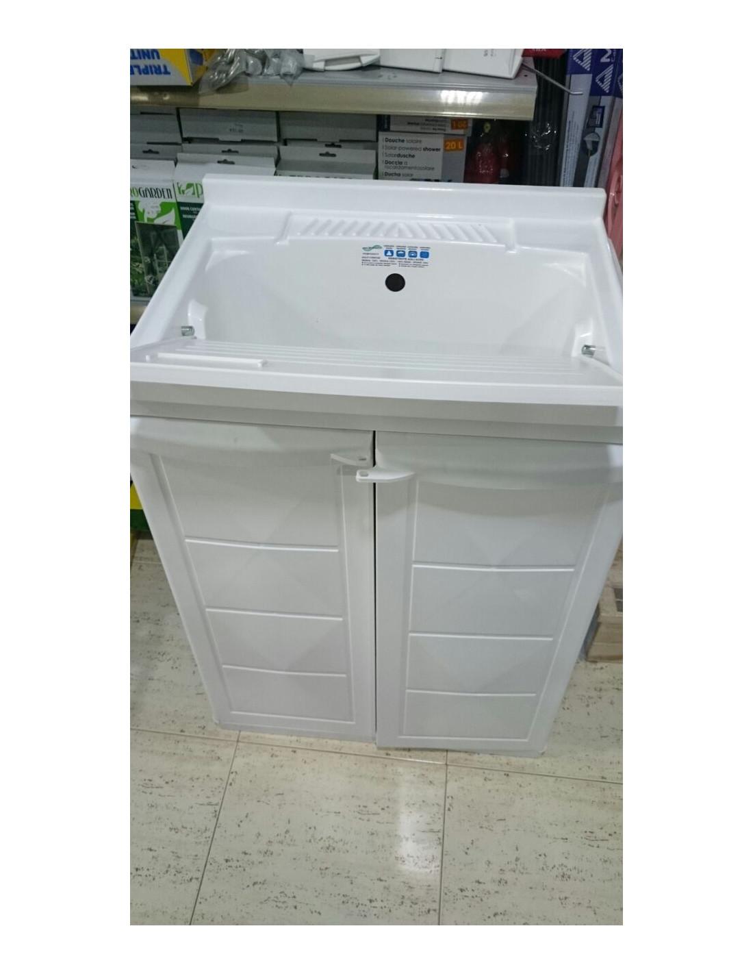 Mueble armario de resina con fregadero incorporado - Muebles para fregaderos ...