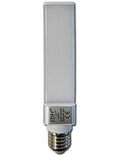 Bombilla LED E27 11w (tipo downlight G24) EDM