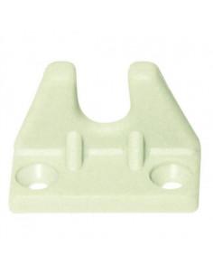 Trinco de plástico branco