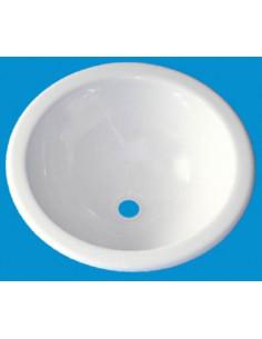 36cm rundes Waschbecken aus Polystyrol