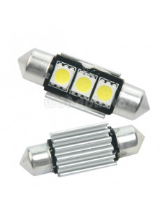 Bombilla LED 36mm 12v Canbus