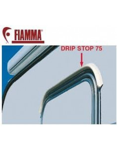 Barre de rail flexible. Anti-goutte Drip Stop 75 cm