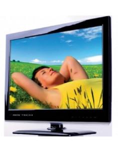 """Televisor pantalla plana HD 24"""" con DVD"""