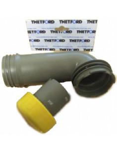 Cotovelo de drenagem Thetford C200 / C250 / C2, C3, C4 / C400