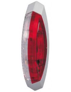Graue zweifarbige Galibo Positionsleuchte mit Glühlampe