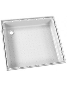 Plato de ducha 650 x 650 mm Blanco calidad extra