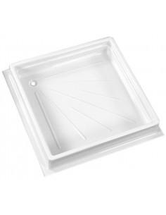 Plato de ducha 680 x 680 mm Blanco