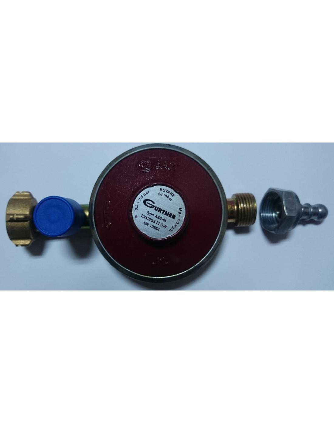 Regulador de gas butano tienda de camping online - Regulador gas butano ...