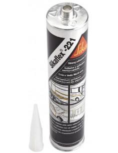 Mastic adhésif multi-usage Sikaflex-221 blanc