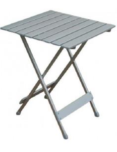 Mesa plegable auxiliar de aluminio individual