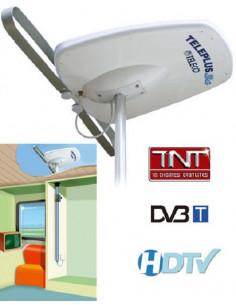 Antena Direcional TelePlus 3G 38dB com Mastro