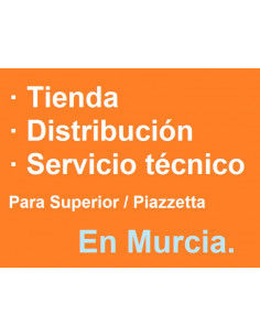 Estufa de pellet Superior Piazzetta en Murcia