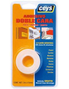 Cinta adhesiva doble cara Ceys