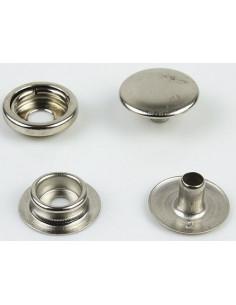 Botones metalicos a presión