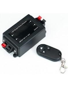 Controlador dimmer para tiras de led con mando a distancia