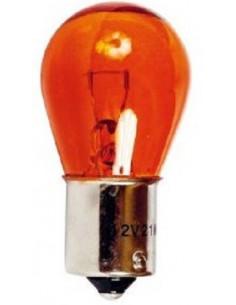 Lâmpada de Parada 1 Polo, 12V, Ba15S Amber