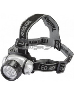 Linterna frontal 7 LED