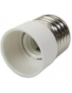 Adaptador Conversor para bombillas E14 a E27