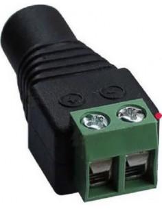 Conector Hembra DC 5,5mm a regleta