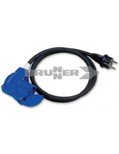Cetac Ellenbogenadapter - Schuko-Stecker für den Außenbereich