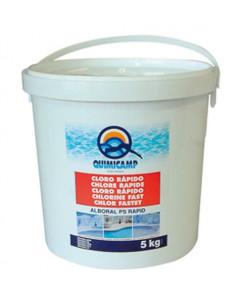 Cloro rápido Quimicamp Alboral PS Rapid 5kg