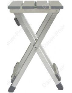 Silla Taburete de aluminio plegable