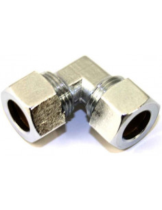 Cotovelo hermético a gás 8 mm