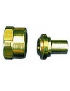 Racord a soldar gas 20/150 a tubo 6/8