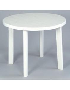 Mesa redonda de resina  90 cm