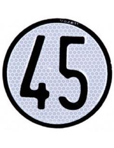 Placa de licença 45k h de alumínio. Quad Atv, veículo agrícola especial