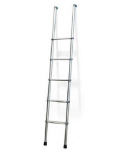 Escalera de aluminio para interior 147 cm