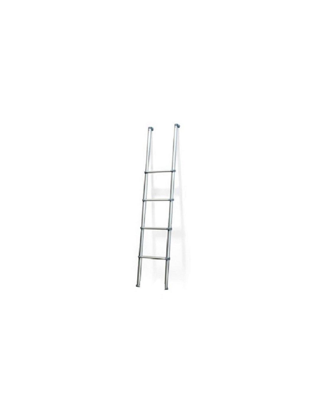 Escalera aluminio para interior 129cm tienda de camping for Escaleras portatiles precios