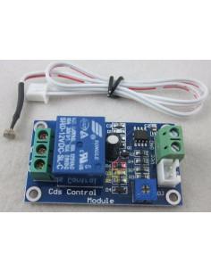 Sensor de luz Crepuscular 12v. con relé independiente