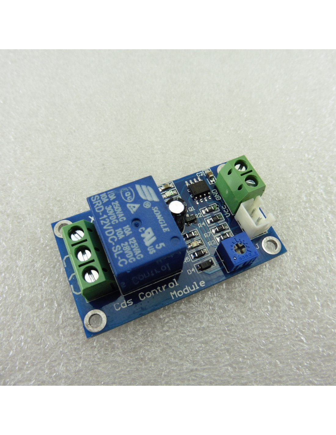 Sensor de luz crepuscular 12v con rel independiente - Sensor de luz precio ...