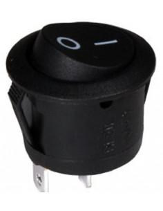 Interruptor redondo basculante 2P 1C