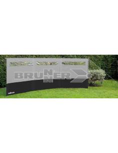 Pare-brise Antigua 1,40 x 6,00 cm. Brunner