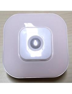 Teto de LED com sensor de movimento. Operado por bateria