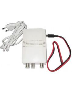 Amplificador con doble ajuste 12 V o 220 V