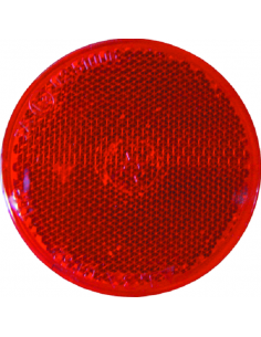 Catapryptique rond rouge 8,1 cm Ø