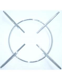 Support pour brûleurs de cuisinière à gaz 250 mm. Dometic