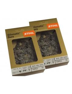 Stihl HARD oder Diamond Kette. Für jede Kettensägenmarke.