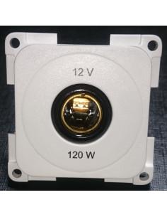 Stecker für 12V weiße Steckdose