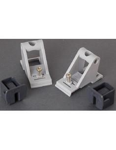 Set de fijación para barra y cerramiento lateral. F45 TiL / L. Fiamma