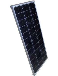 Panneau solaire essentiel 110w + Câble + régulateur solaire + Presse-étoupe.